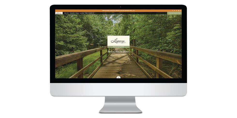 New Legacy at Jordan Lake Website is Live!