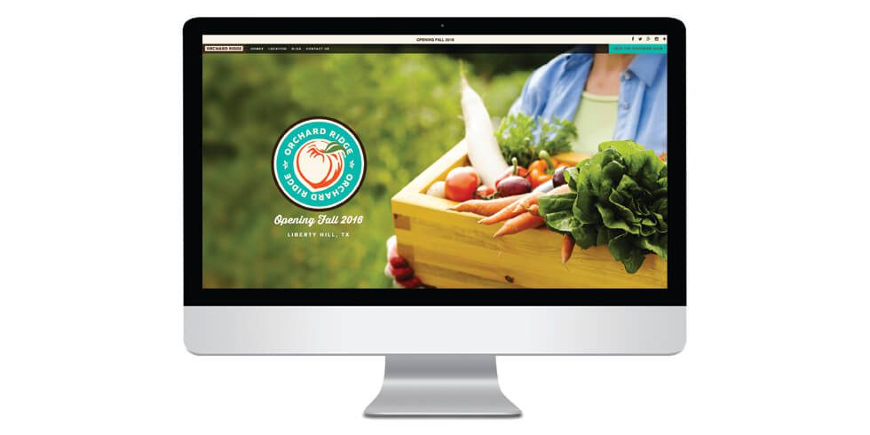 New Orchard Ridge Website is Live!