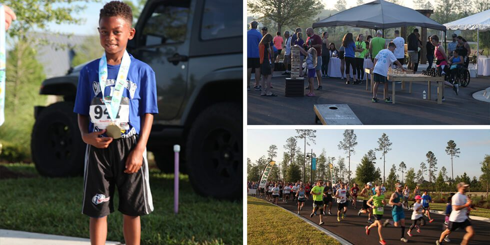 "Shearwater Hosts Successful ""5K On The Trails"" Event"