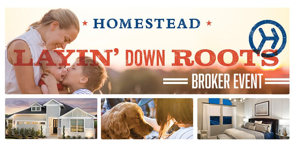 Exclusive Realtor Event at Homestead THURS, MAY 10 (11am-1pm)