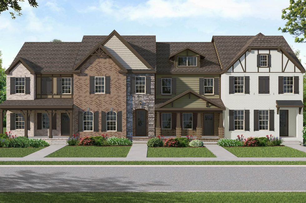 New Townhomes Starting in the $200's by Goodall Homes