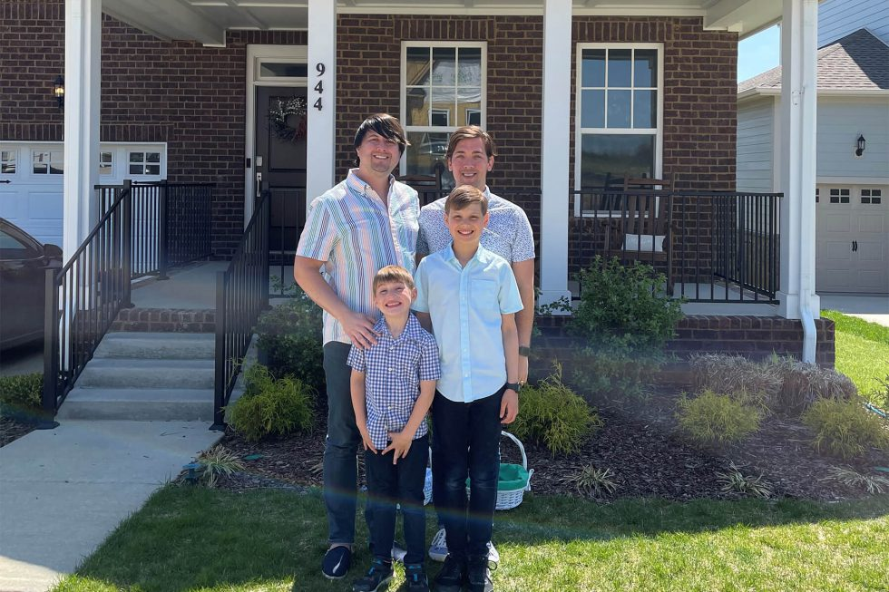 Meet your neighbors: The Turner-Pennington Family