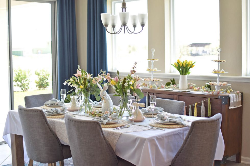 How To: Style the Perfect Easter Table in 5 Easy Steps